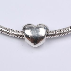 Authentic PANDORA Sterling Silver Heart Charm